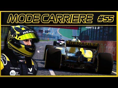 F1 2018 Mode Carrière S3E13 : ENCORE EN DIFFICULTÉ....