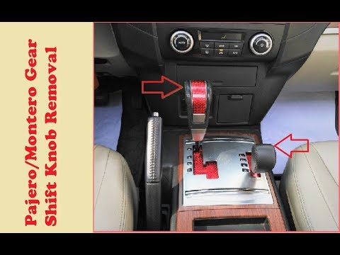 how to fix chip gear knob