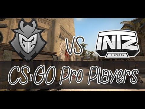 [CS:GO] G2 VS INTZ - ESL Pro League Season 8 Finals - Mirage (Map 2)