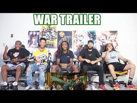 War Trailer  Hrithik Roshan  Tiger Shroff  Vaani Kapoor REACTION