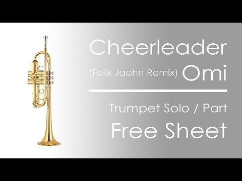 Cheerleader omi felix jaehn piano tutorial sheets