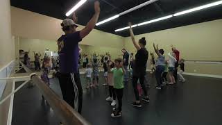 kids dance with dad