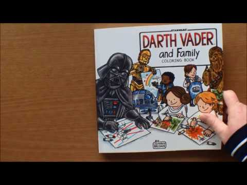 Star Wars: Darth Vader and Family Colouring Book by Jeffrey Brown