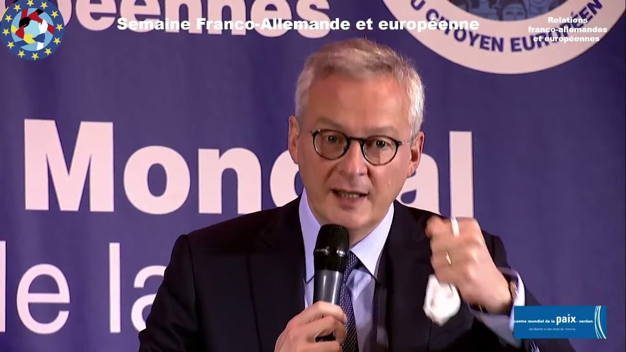Relations franco-allemandes et européennes - Bruno Lemaire