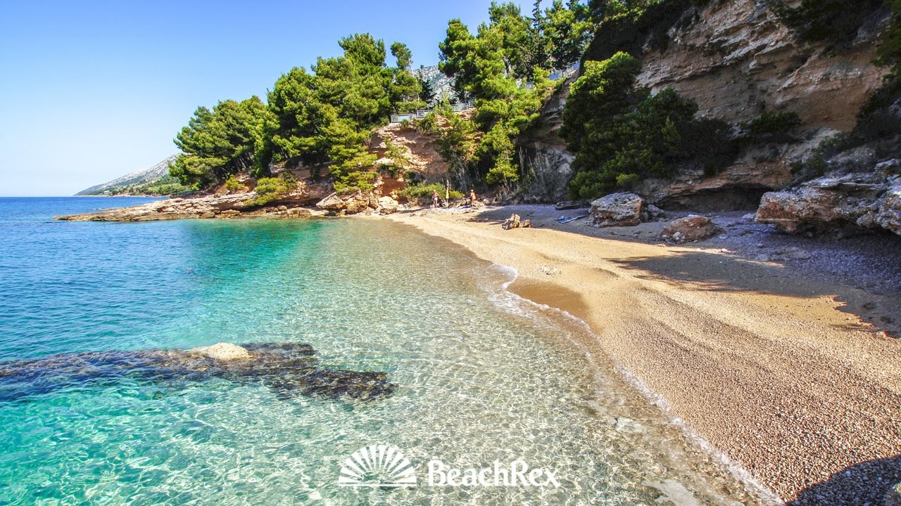 Beach Paklina Bol Island Brač Croatia