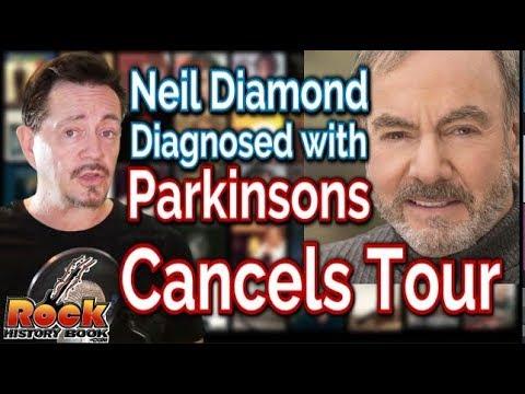 Neil Diamond Diagnosed with Parkinson's Disease Cancels Tour