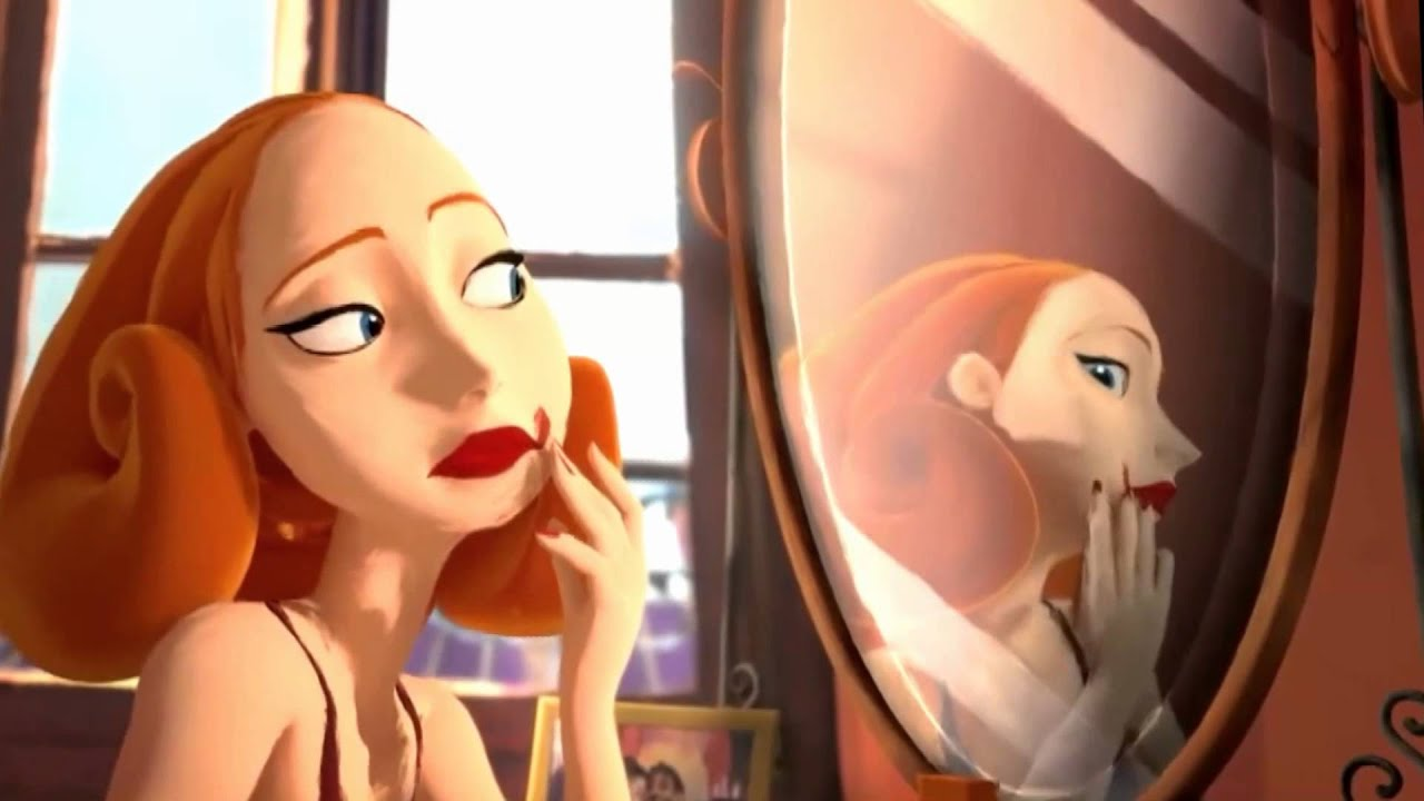 Travestido en el espejo
