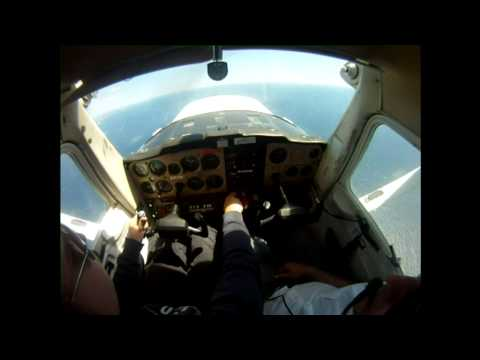 Cessna 152 stalls, steep turns and other maneuvers.