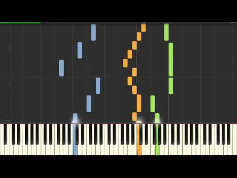 Canon in D - Piano and Violin Duet (Sheet Music) [Synthesia Tutorial]