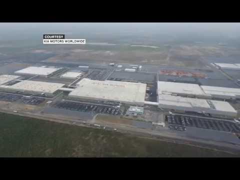 Kia Cars Company At Penukonda Youtube