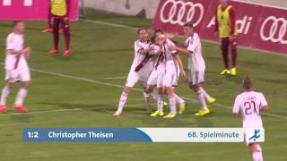 FC Bayern München II - 1. FC Nürnberg II (Regionalliga Bayern 15/16, 11. Spieltag)
