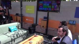 Microsoft lanza Windows 8 - reportaje desde México