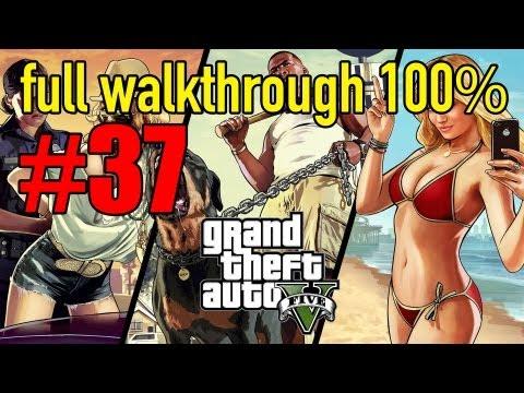 GTA 5 Walkthrough Part 37 HD 100% Gameplay The Merryweather Heist