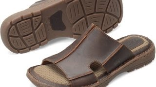 Born Mens Footwear Sigmund H29206 Brown Sandal