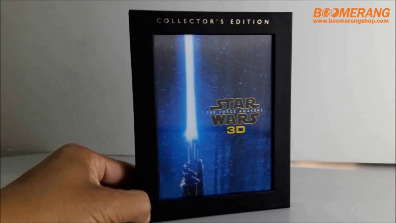 Star Wars 7 Blu Ray 3d