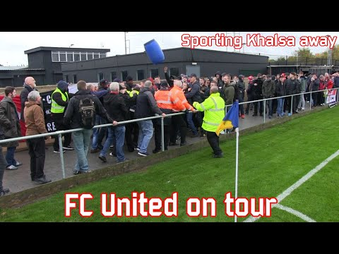 Sporting Khalsa - FC United of Manchester II (Oct 24, 2015)