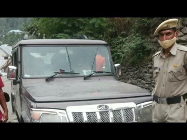 चम्बा/भरमौर ! श्रद्धालुओं की बैलेरो गाड़ी के टायर चोरी होने का सामने आया मामला !