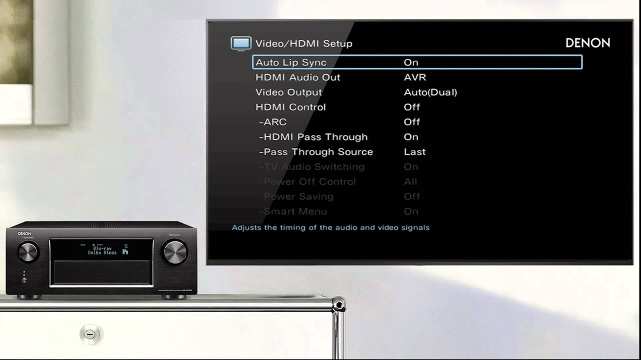 Denon | How to get TV Audio via your Denon AV Receiver with a (Non ARC) TV