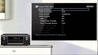 Denon | How to get TV Audio via your Denon AV Receiver with a (Non ARC) TV