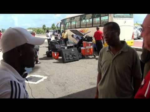 T&T Senior footballers arrive in Bermuda