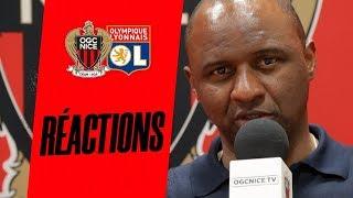 VIDEO: La réaction du coach Vieira après Nice-Lyon (1-2)