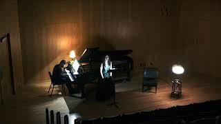 2 Lieder Op. 14, by A. Schönberg, Performed by Alyssa Becker and Christos Marinos.