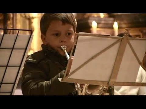 5 Year Old Trumpet Kid, Trumpet Minuet