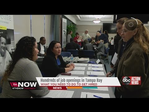 Hundreds Of Jobs Open Across Tampa Bay Area
