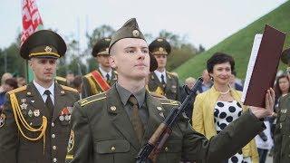 Присяга курсантов военного факультета