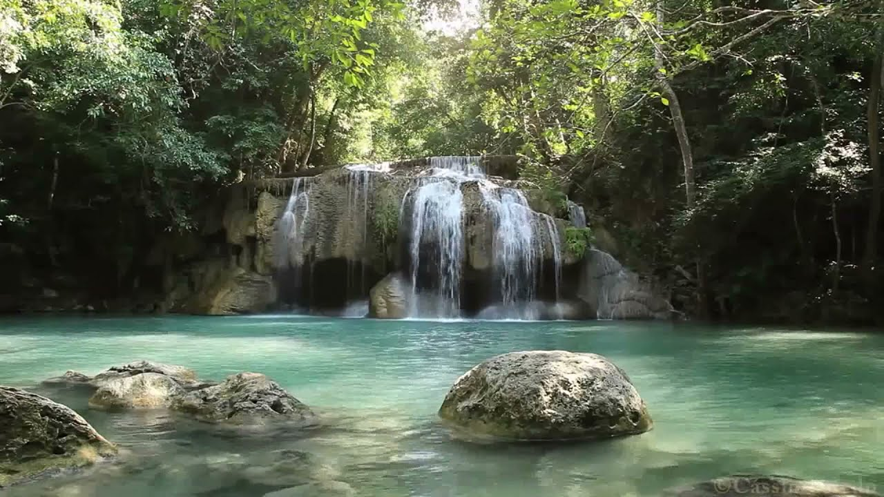 relaxing nature waterfall sounds - 1200×675