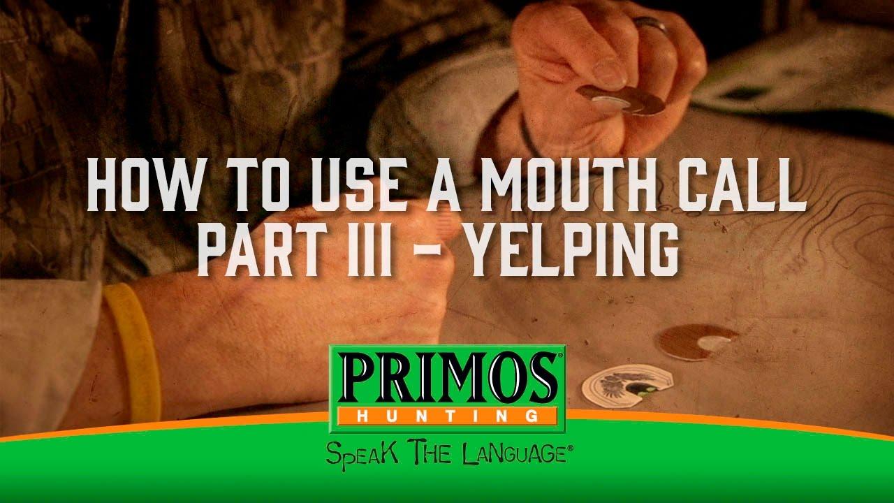 Primos Greenleaf Mouth Call w//Modified Turkey Track Cut 3 Reeds Mossy Oak 1484