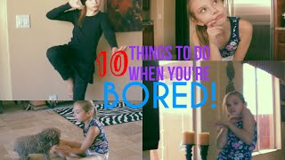 10 Things To Do When Your Bored l Sasha Morga Thumbnail