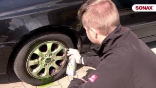 Чем отмыть диски автомобиля?