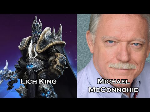 Characters and Voice Actors - Heroes of the Storm Part 1