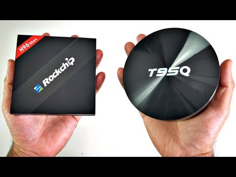 H96 MAX VS T95Q Head To Head TV Box Comparison / RK3399 Vs S905X2