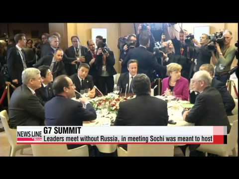 World leaders meet without Russia in G7 Summit