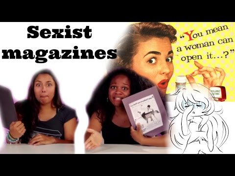 Women Review Sexist VINTAGE Adds