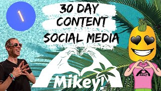 30 day content and social media course 1