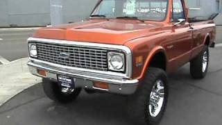 1971 and 1972 Chevrolet C/K Pickups For Sale!