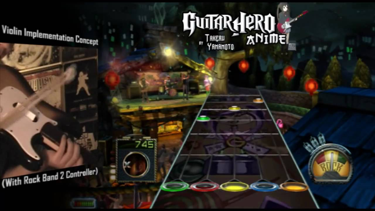 Guitar Hero Anime / Violin Hero [ Updated 10/14/09 | Newest