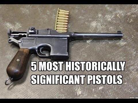Top 5 Most Historically Significant Semi-Auto Pistols
