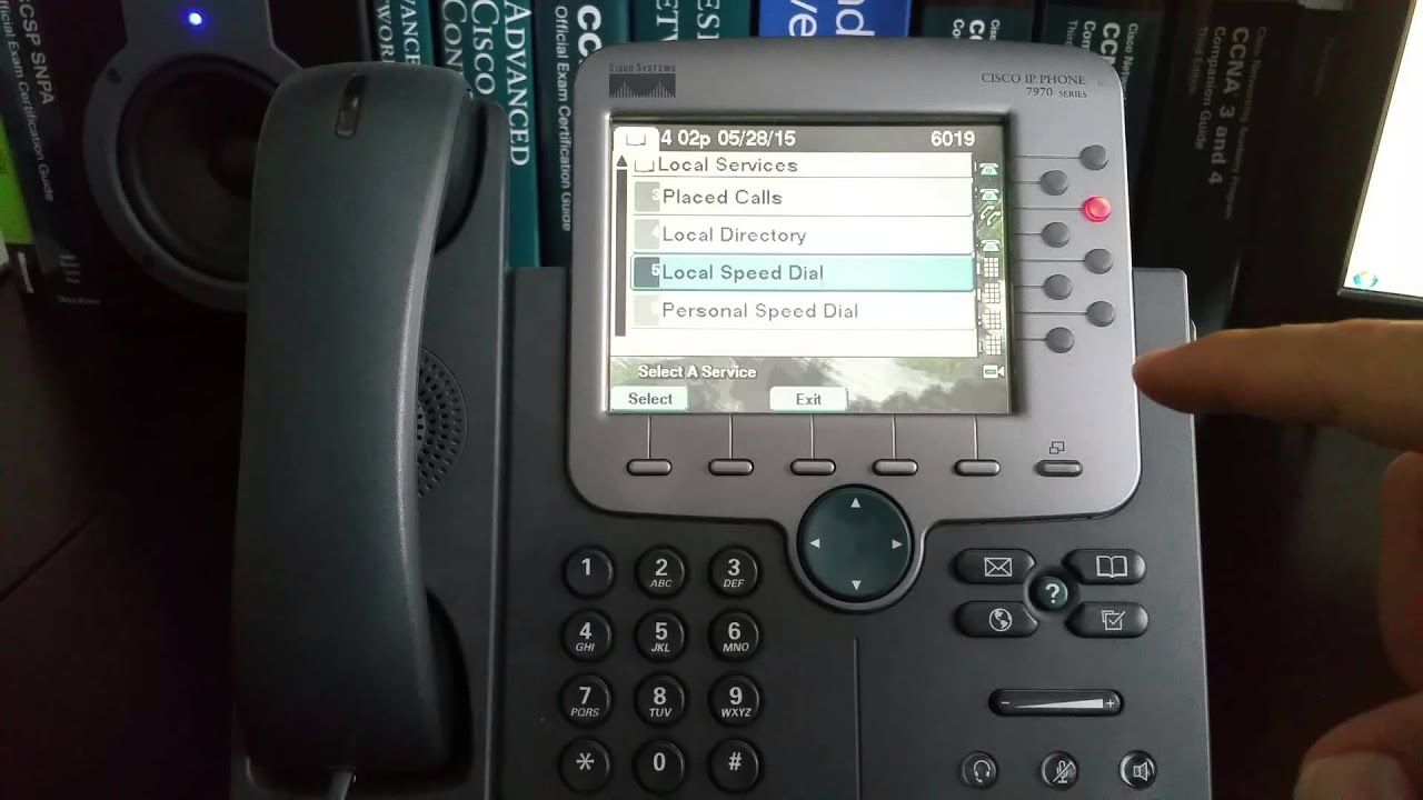 Configuring Personal Speed Dials On Cisco 7900 Series Phones How To Identify Ics In Your 7941g And 7961g Nothing But Net