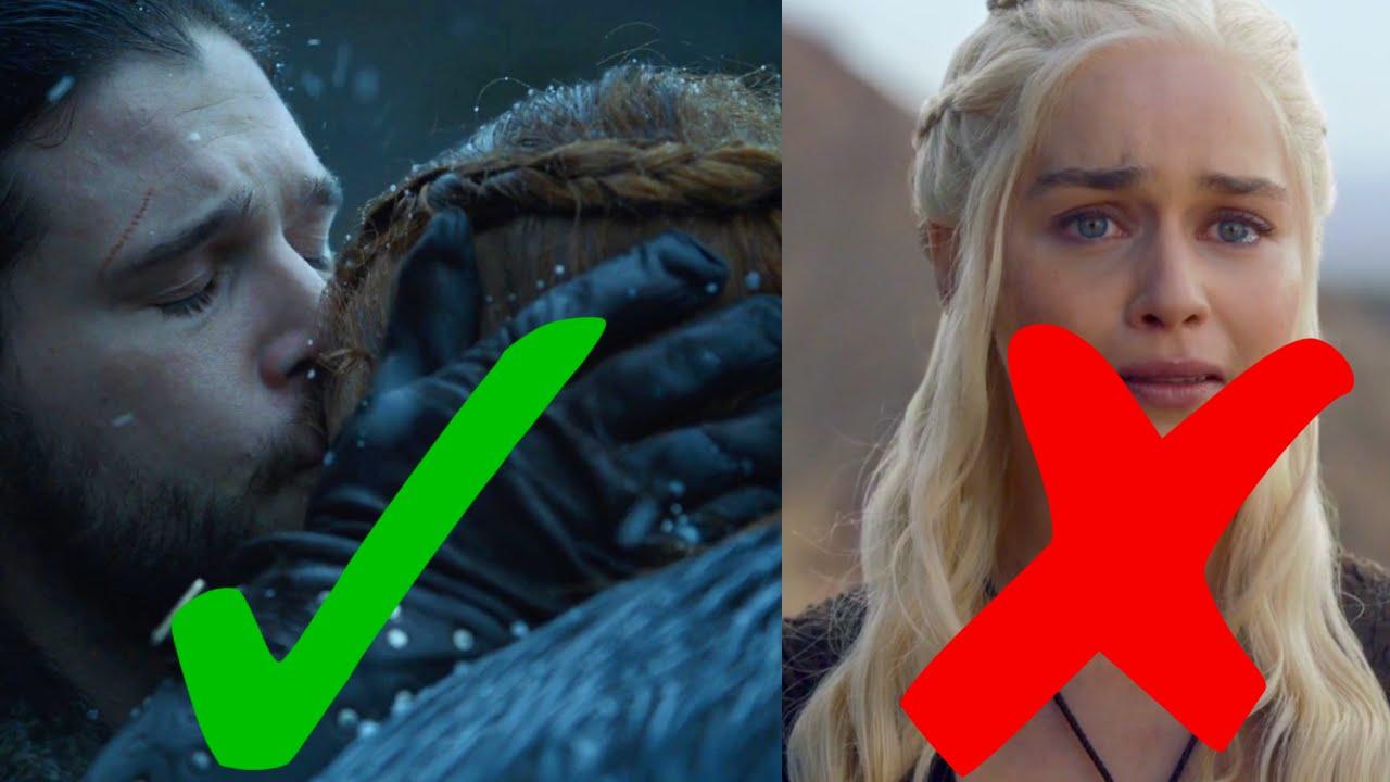 Why Jon Will Marry Sansa And Not Daenerys Game Of Thrones Season 7 Snow Stark Targaryen You