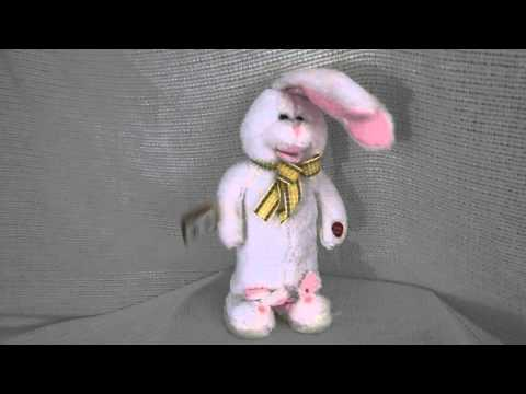 Animated Singing Easter Bunny, Peter Cottontail