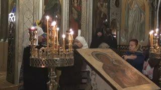 Литургия памяти королевы эллинов Ольги Романовой в Русской Церкви в Афинах