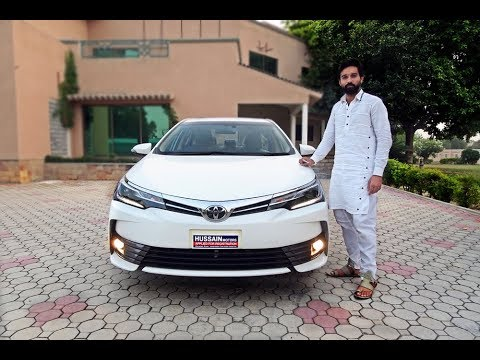 Toyota Corolla Altis Grande Cvt I 2019 Detailed Review New Features
