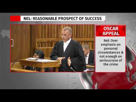 State files for leave to appeal Oscar Pistorius sentence