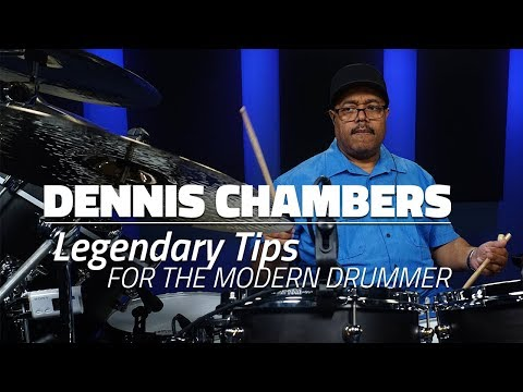 Dennis Chambers: Legendary Tips For Modern Drummers (FULL DR