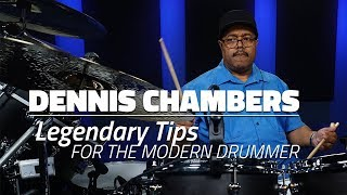 Dennis Chambers: Legendary Tips For Modern Drummers (FULL DRUM LESSON) - Drumeo