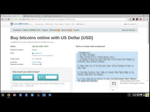 How to buy bitcoins on Localbitcoins.com